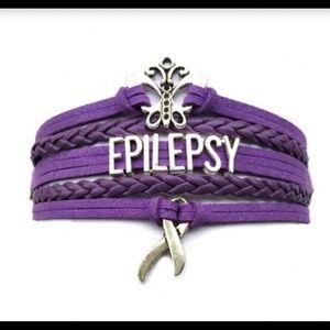Jewelry - Epilepsy Ribbon Bracelet